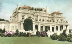 Pembroke, The Captain Joseph Delamar mansion at Glen Cove, Long Island, New York. Demolished   | More here: http://mylusciouslife.com/historical-books-reading-list-british-american-social-history/