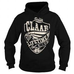 I Love Team CLAAR Lifetime Member (Dragon) - Last Name, Surname T-Shirt Shirts & Tees