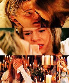 Leonardo DiCaprio and Claire Danes  Romeo and Juliet