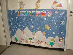 Murales Infantiles De Navidad