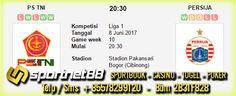Prediksi Skor Bola PS TNI vs Persija 8 Jun 2017 Liga 1 di Stadion Pakansari Bogor (Cibinong) pada hari kamis jam 20:30 live di TV One