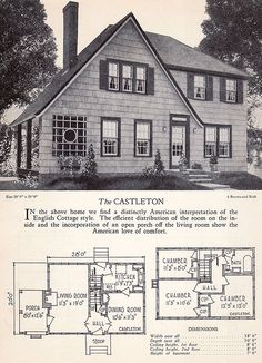 1928 Home Builders Catalog - The Castleton