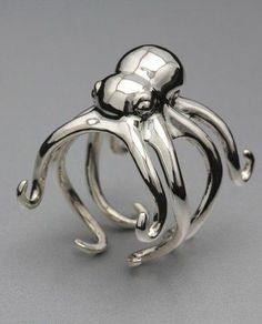 Jewelry | Jewellery | ジュエリー | Bijoux | Gioielli | Joyas | Rings | Bracelets | Necklaces | Earrings | Art | Octopus Ring