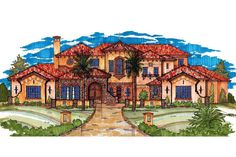 Plan 83395CL: Spectacular Master Suite