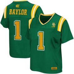 Baylor Bears Women's Blitz Football Jersey - Green - $44.99