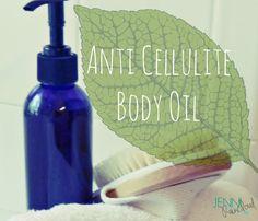 Anti Cellulite Body Oil - Jenni Raincloud