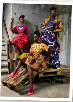 African Prints in Fashion. Exploring the Imprint of the African Diaspora on Fashion. African Inspired Fashion, African Print Fashion, Africa Fashion, Ethnic Fashion, Fashion Prints, African Prints, Ankara Fashion, Ghana Fashion, African Wear