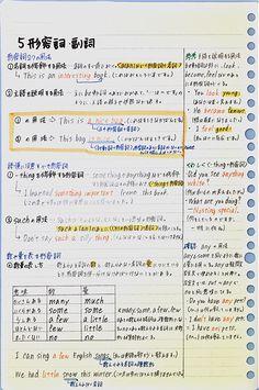 Japanese Language Lessons, Korean Language Learning, English Lessons, Japanese Notebook, Study Japanese, Japanese Handwriting, Study Skills, Study Hard, English Study