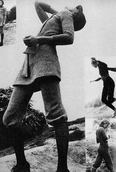 Elisabeth Nielsen forVogue UKAugust 1970 by Elisabeth Novick