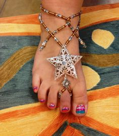Barfoot Sandals by YumaDesertFairy on Etsy, $33.00