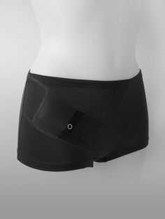 AnnaPS - Boxer Boxi Svart Panties with pocket to carry your insulin pump easy, perfect when you sleep