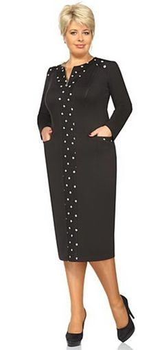 New Ideas Fashion Design Dress Modest Fashion, Trendy Fashion, Plus Size Fashion, Fashion Outfits, Womens Fashion, Dress Fashion, Simple Dresses, Plus Size Dresses, Plus Size Outfits