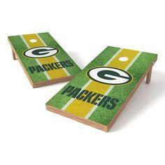 Tailgate Toss NFL Field Cornhole Game Set NFL Team: Green Bay Packers
