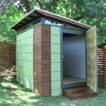 It's just a shed.. but it's a beautiful shed. Amazing how a few small details make it art. Kanga Room shed--modern outback 8x10 4.jpg