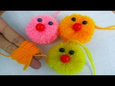 This video about:DIY Pom Pom Cat, Very Easy Wool Trick, Pom Pom Cat, DIY Craft, Crafts & Embroidery Welcome to my channel crafts & Embroidery! Art N Craft, Craft Stick Crafts, Fun Crafts, Easter Crafts For Kids, Craft Activities For Kids, Handmade Rakhi Designs, Japanese Ornaments, Rakhi Making, Pom Pom Crafts
