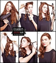 Fabulous Step-By-Step Hair Tutorials -