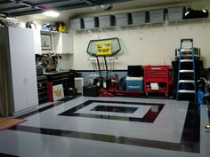 Where to find VCT tiles in Black and white? - The Garage Journal Board