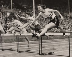 HURDLES, OLYMPIC GAMES, 1948