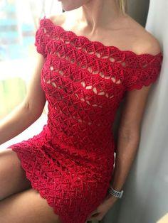 Knit Crochet Skirt Pattern with Crochet Dress Pattern For One Year Old Beau Crochet, Pull Crochet, Mode Crochet, Knit Crochet, Crochet Kits, Crochet Ruffle, Crochet Style, Newborn Crochet, Crochet Cardigan