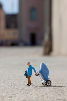 cool miniature art | Intentional artz