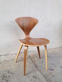 Walnut Mid-century Chair - $80
