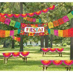 Fiesta Indoor Outdoor Decorating Kit