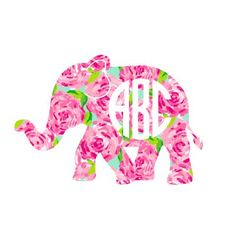 This listing is for ONE monogram style of your choice in our Lilly Inspired Vinyl.  ***Size chosen is for the WIDTH of the ENTIRE decal. Height will be proportional. If you need to know the exact height of a design, please message me with the width that you need and I will let you know the height.*** You can put a vinyl decal on just about any smooth surface. Such uses are car windows, laptops, cellphones, glasses, cups, coolers, and so much more. The vinyl used is a top notch 5-7 year…