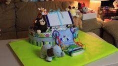 Noah's Ark Diaper Cake (How To Make) ~ so cute!