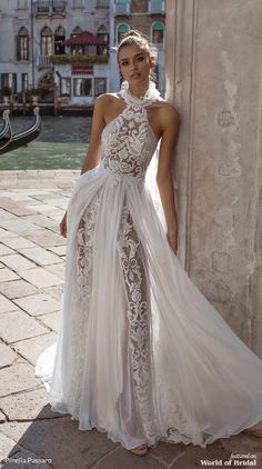 Pinella Passaro 2019 Wedding Dresses Traditional and Innovative - - hairdresserhairstyles.club Pinella Passaro 2019 Wedding Dresses Traditional and Innovative - Casual Wedding Guest Dresses, Dream Wedding Dresses, Wedding Attire, Bridal Dresses, Wedding Gowns, Maxi Dresses, Bridesmaid Dresses, Backless Wedding, Couture Wedding Dresses