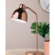 Astrid - The Astrid desk lamp with its polished pink tones, oozes style and sophistication. This warm metal finish gives a glamorous nod to Art Deco days and is a refreshing take on Chrome and Gold finishes. Right on the pulse of what's trending today, the Astrid lamp is perfect as a stylish bedside lamp.  Description:  Rose Copper  Height:    510mm