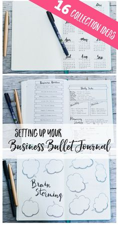 Setting up your Business Bullet Journal (with 16 collection ideas): business planning | business planner | blog planning | blog planner | blogging planner | blog bullet journal | business bullet journal | business bullet journal layout | business bullet journal posts | business bullet journal ideas | blog bullet journal layout | blog bullet journal posts | blog bullet journal ideas | bullet journal for work | bullet journal for work layout | bullet journaling ideas
