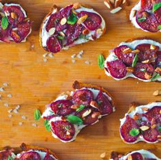 Wine-Poached Figs on Ricotta Toast | Edible Silicon Valley