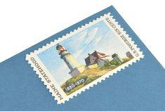 Pack of 25 Unused Maine Postage Stamps - - Maine Statehood - 1970 - Unused Postage - Quantity of Edward Hopper, Wedding Envelopes, Vintage Stamps, Custom Stamps, Unique Vintage, Birthday Invitations, Holiday Cards, Maine, Decoupage
