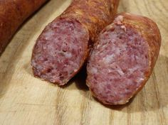Pfefferbeißer – Apocalypse Now And Then Salami Recipes, Sausage Recipes, Charcuterie, How To Make Sausage, Sausage Making, Smoking Meat, Ham, Bacon, The Cure