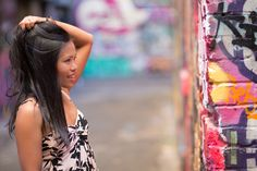 What a great background for a photoshoot! Melbourne Street, Great Backgrounds, Photo Shoot, Street Art, Hair Styles, Beauty, Fashion, Woman, Photoshoot