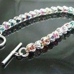Sterling Silver Captured Persian Bracelet