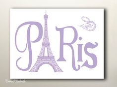 Teen girls decor French Typographic Art print by EEartstudio, $12.00