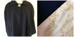 Wool blend outer and 100% cotton lining Size S