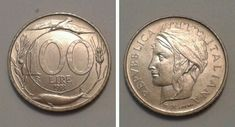 Valore Moneta 100 lire Turrita