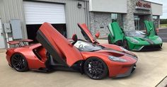 Awesome Ford 2017 - Green And Orange 2017 Ford GTs Touch Down In Arkansas #Ford #Ford_GT...  Carscoops Check more at http://carsboard.pro/2017/2017/09/01/ford-2017-green-and-orange-2017-ford-gts-touch-down-in-arkansas-ford-ford_gt-carscoops/