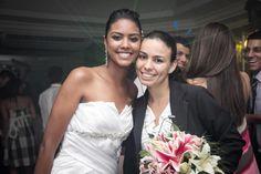 Eu e a noivinha Karen