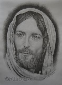 My model of Supreme Love, Supreme Humility, and Supreme Sacrifice. Done in paper, assorted pencils. Powell& Jesus of Nazareth. Jesus Christ Drawing, Jesus Drawings, Jesus Art, Christ Tattoo, Jesus Tattoo, Pictures Of Jesus Christ, Names Of Jesus, Catholic Art, Religious Art