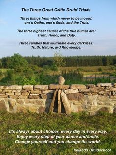 Celtic druids- I would change God's plural to just God The Father, from whom we have received our knowledge and wisdom through the symbol of the oak, thorn, an ash. Druid Symbols, Celtic Paganism, Celtic Druids, Celtic Mythology, Celtic Symbols, Mayan Symbols, Egyptian Symbols, Ancient Symbols, Wicca Witchcraft