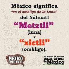 México significa...