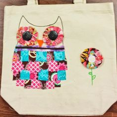Angela Anderson Art Blog: Crafty Owl Book Bags - Kids Art Class