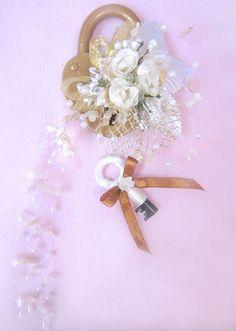 Свадебный замочек - Уроки мастерства - интернет-магазин «Патибум»