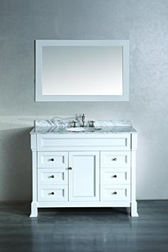 Special Offers - Bathroom Modern Single Vanity with Mirror - In stock & Free Shipping. You can save more money! Check It (April 20 2016 at 06:04PM) >> http://bathvanitiesusa.net/bathroom-modern-single-vanity-with-mirror/
