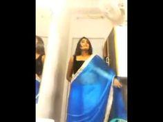 swathi naidu saree change self shoot