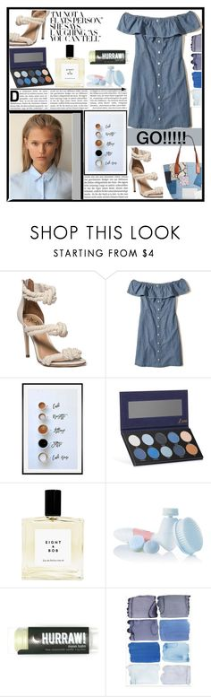 """""""Old blue, tried and true."""" by klmalcolm on Polyvore featuring Hollister Co., Pottery Barn, Luxie, Reebok and Marc Jacobs"""