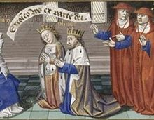 Bertrade de Montfort (c. 1070 – 14 February 1117) was the daughter of Simon I de Montfort and Agnes, Countess of Evreux. Her brother was Amaury de Montfort. First married to Fulk IV, Count of Anjou in 1089 and the mother of his son Fulk of Jerusalem, when the lovely Bertrade caught his eye. According to the chronicler John of Marmoutier: The lecherous Fulk then fell passionately in love with the sister of Amaury de Montfort, whom no good man ever praised save for her beauty.